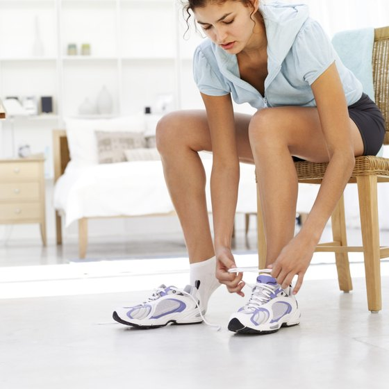 Lace up your sneakers and lose weight in the comfort of your bedroom.