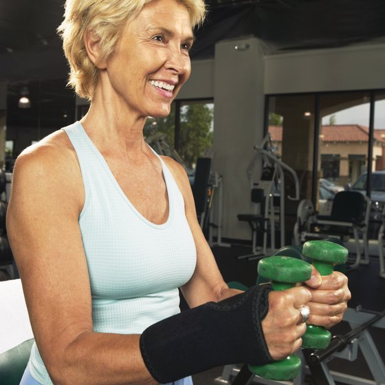 Strength training preserves muscle mass in older adults.