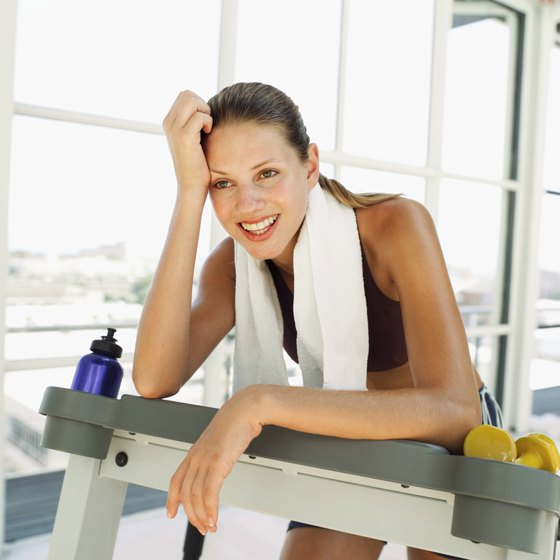Get an intense one-hour workout on the treadmill using incline and intervals.