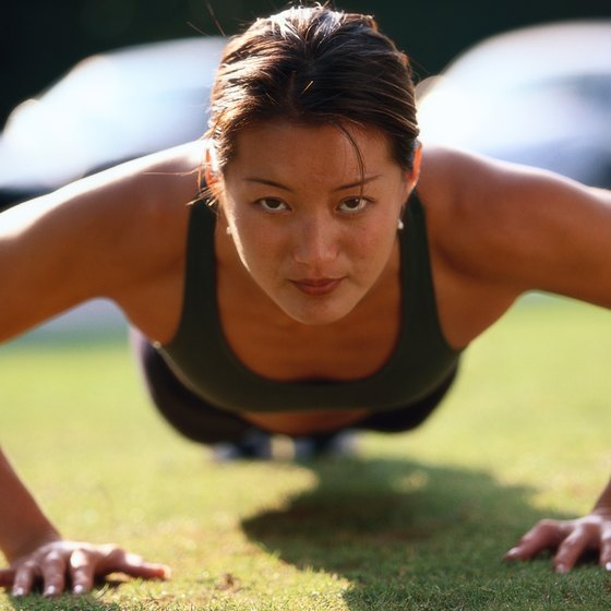 The pushup is a classic example of an isotonic arm exercise.