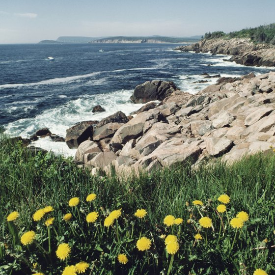 Cape Breton is famous for its romantic landscapes.