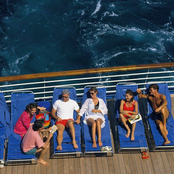 Spend several relaxing days at sea on a transatlantic crossing.