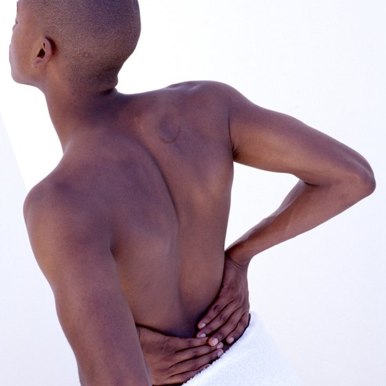 Strong back muscles can reduce low-back pain.