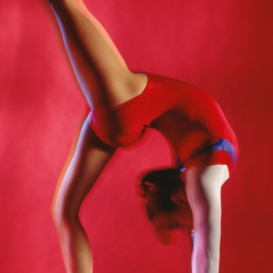 A gymnastics floor routine should showcase the gymnast's ability and personality.