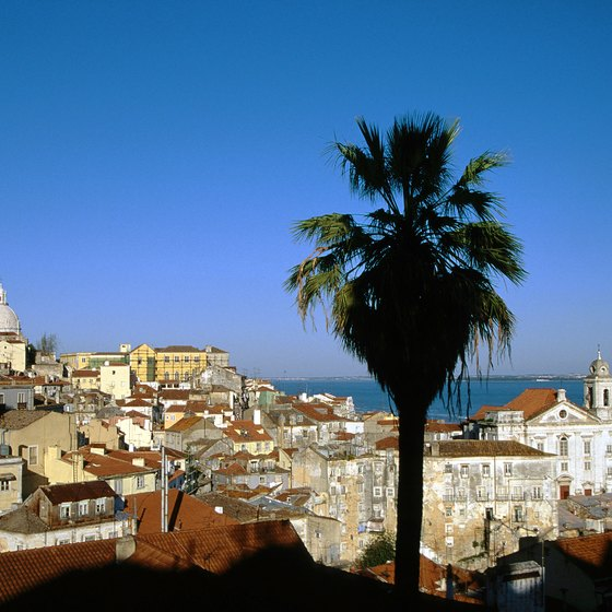 Lisbon is the capital of Portugal and a train hub for international and domestic rail service.