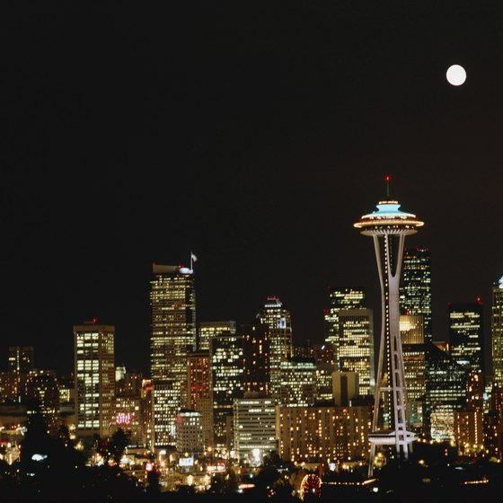 Take in the Seattle skyline from Elliot Bay or Lake Washington.
