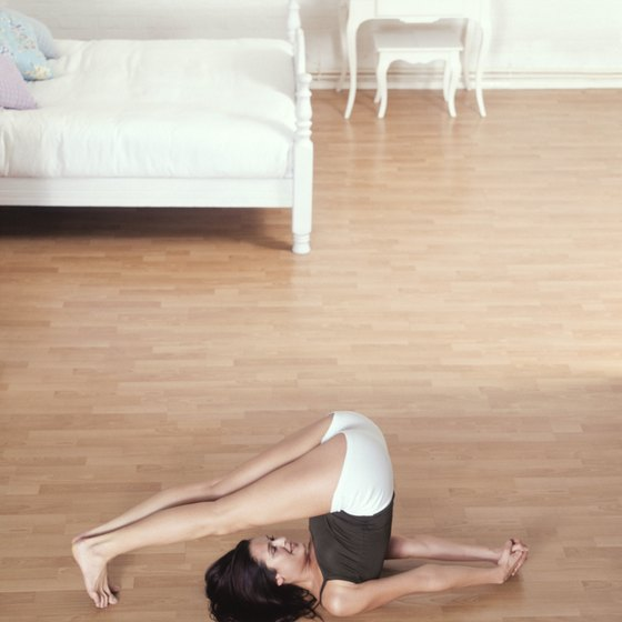 Front bending is based on flexibility about the hip joint.