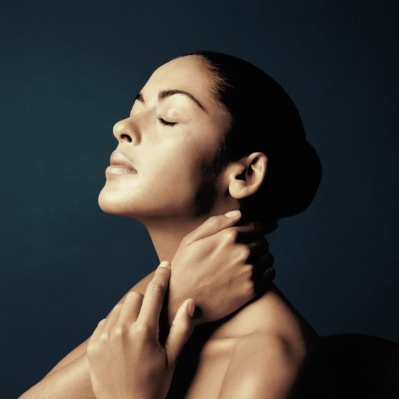 Neck stretches can improve your posture.