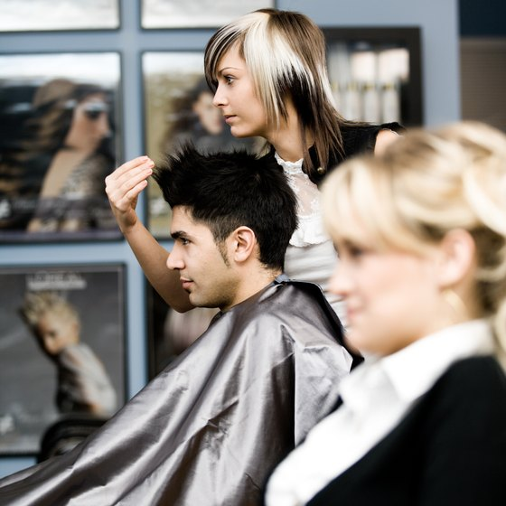 Hair salon revenue and profits are impacted by the overall economy.