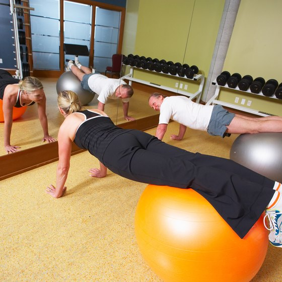 Vary the types of pushups you do to increase muscle use.