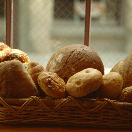 Display your baked goods in the windows of your bakery.