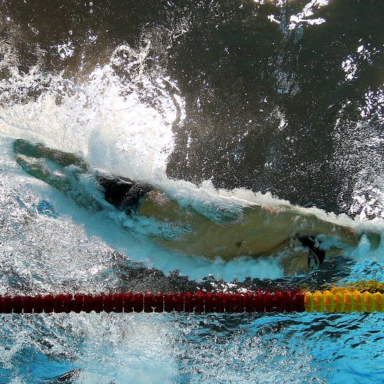 Build your chest to boost your speed for swimming.