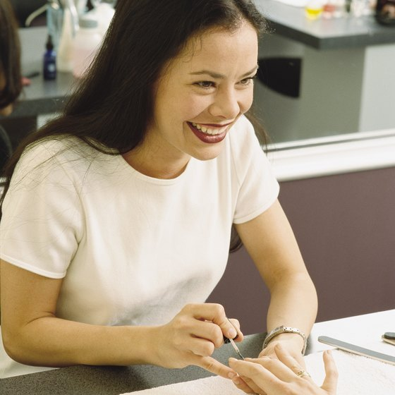 Business insurance can protect nail salon owners from typical service mishaps.