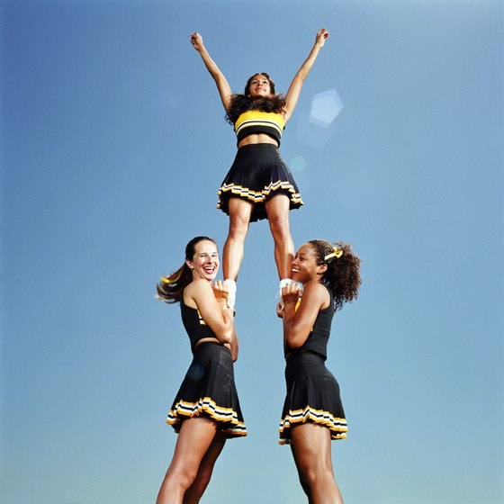 Twist cradles in cheerleading are also called full down cradles.