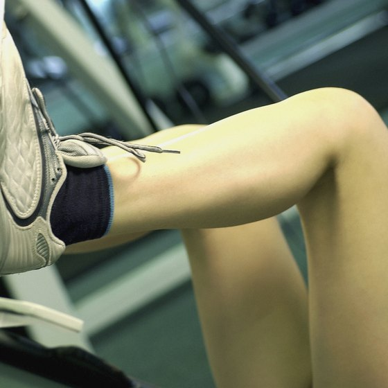 The leg press protects your back, neck and shoulders from strain.