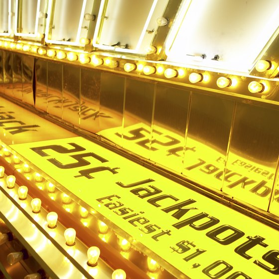 Jackpot, Nevada, is a gambling town near the Idaho border.