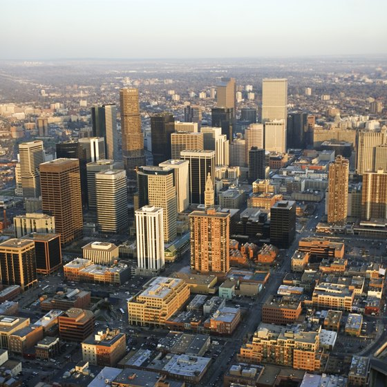 The casinos of Black Hawk are only 40 miles west of downtown Denver.