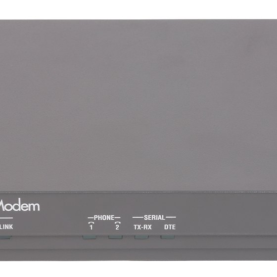 Comcast provides you with a compatible modem to use.