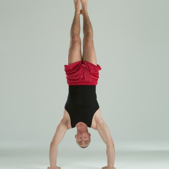 Mastering a free-standing handstand is a feat in itself.