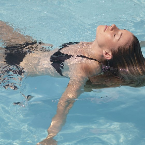 Chlorine in pools is the primary culprit for hair and skin damage among swimmers.