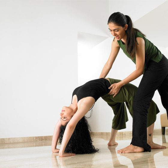 Yoga teacher training provides skills in sharing the knowledge of yoga practice and postures.