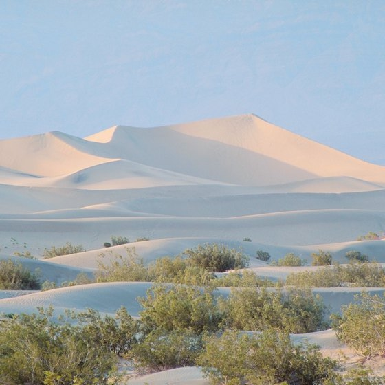 Death Valley is among the hottest spots in the U.S.
