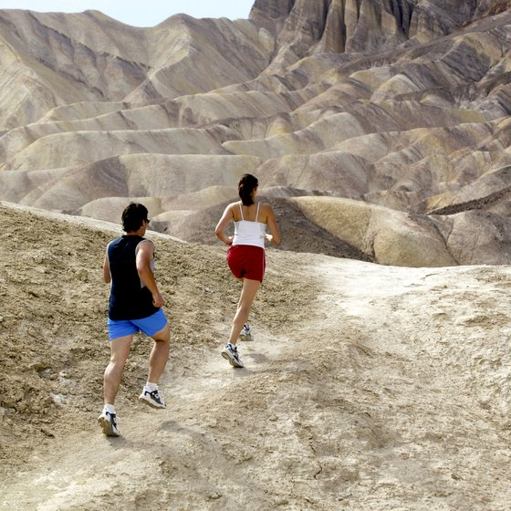 Running uphill can help tone your butt.