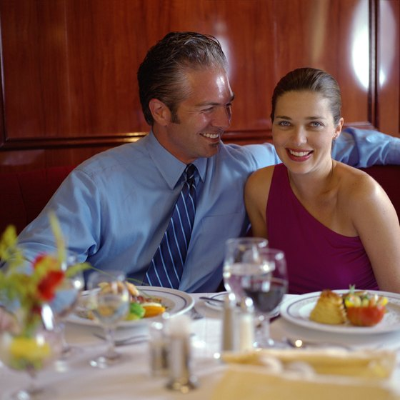 Private dinner cruises may be casual or formal events.