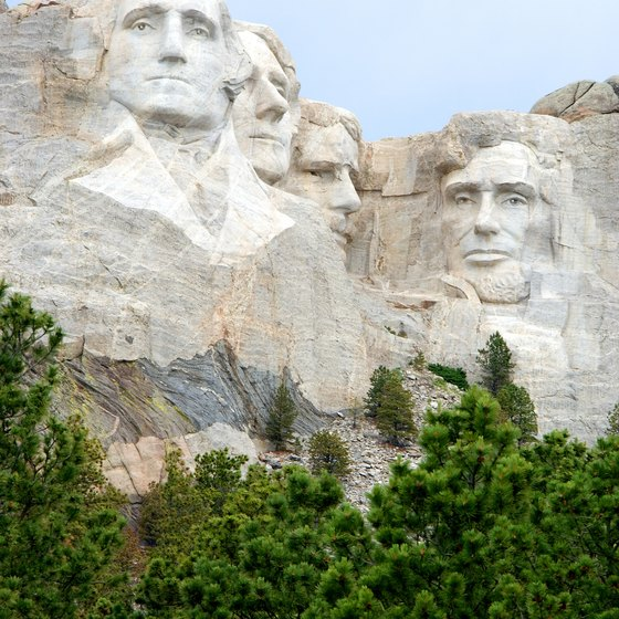 Mount Rushmore is one of the forest's primary attractions.
