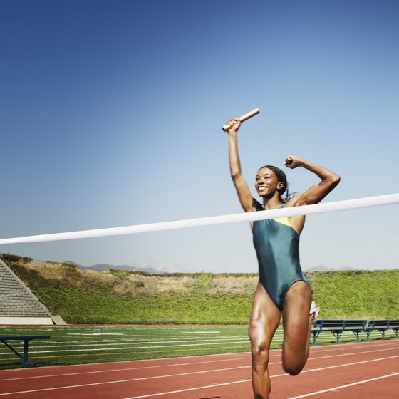 Tone your muscles to win on the track.
