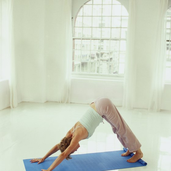 Downward-Facing Dog pose can help strengthen your arches.