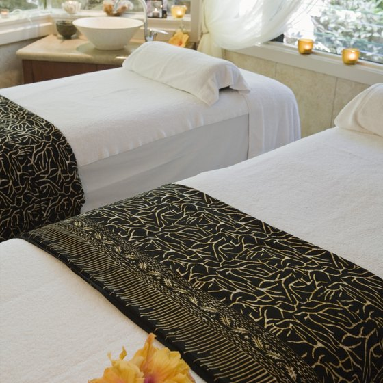 Your spa decor should reflect your target market's preferences.