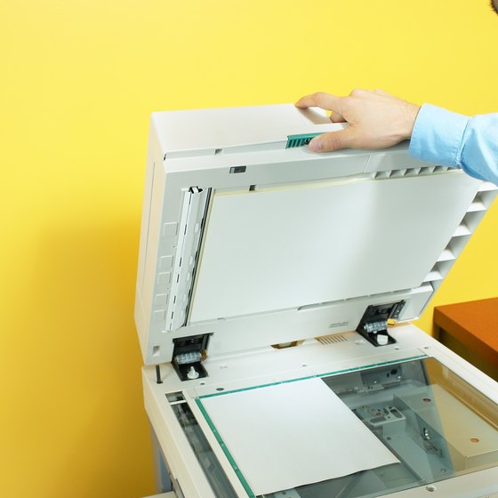 The Bizhub C350 is a scanner, copier, network printer and fax machine.