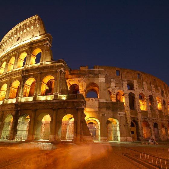 Rome's Colosseum is just one of Europe's famous landmarks.