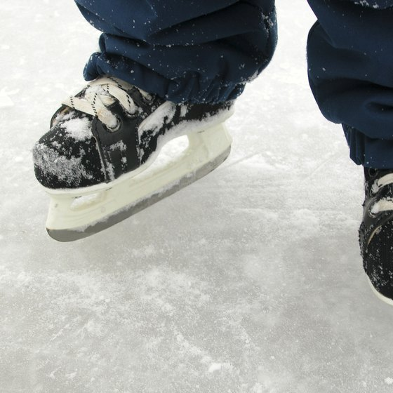 Hockey skates need a sharp blade that will dig into the ice, facilitating quick turns and stops during the game.
