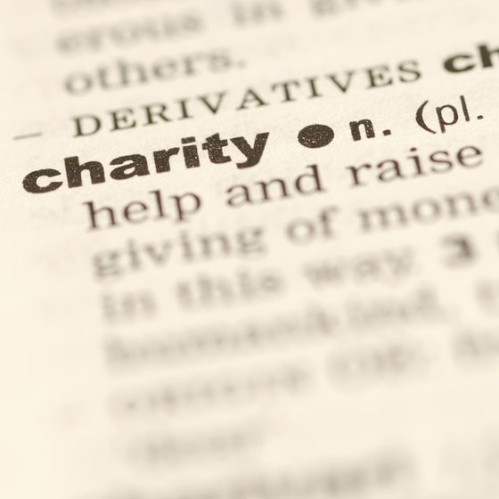 Charitable organizations may qualify for tax-exempt status under section 501(c)(3) of the Internal Revenue Code.