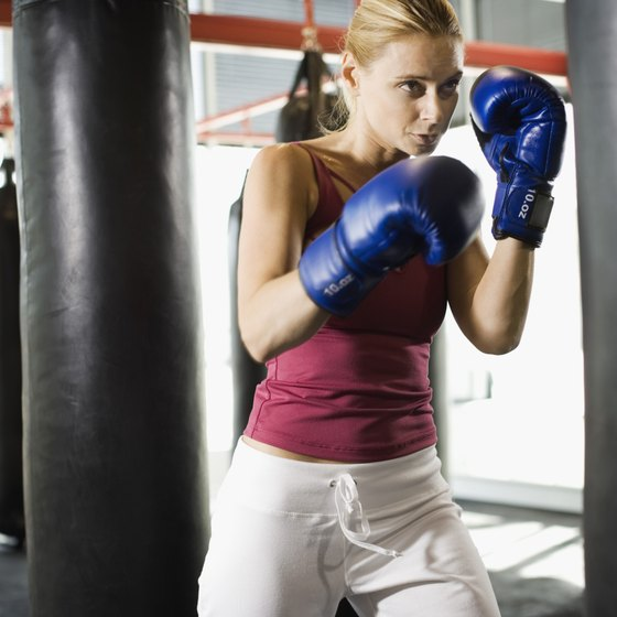 Working the heavy bag is a significant part of any boxing workout.