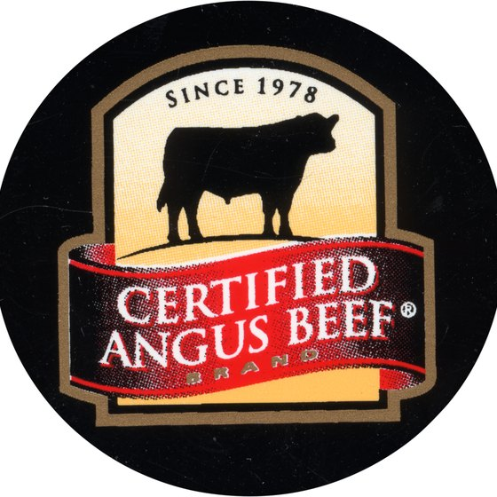 "The ""R"" after ""Angus Beef"" indicates the mark is federally registered. A ""TM"" indicates a common law trademark."