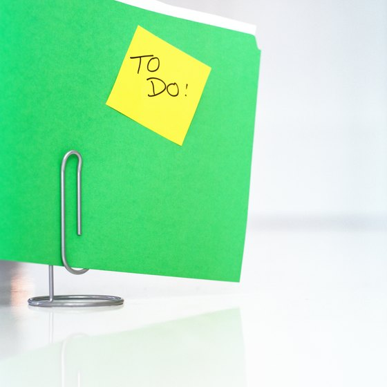 Prioritizing a project's to-do list is key to effective planning.