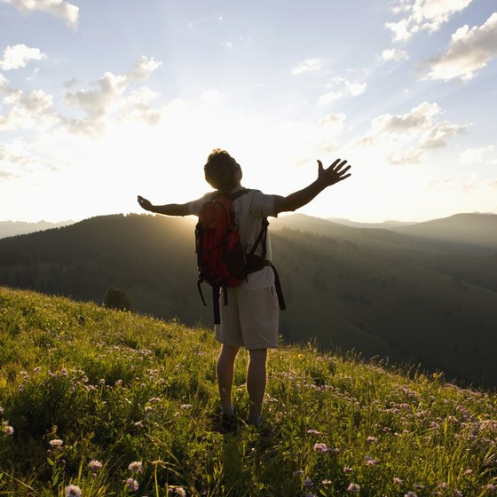Hiking provides a number of spiritual, mental and physical benefits.