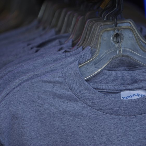 Selling t-shirts at a flea market depends on how well you connect with your target consumer.