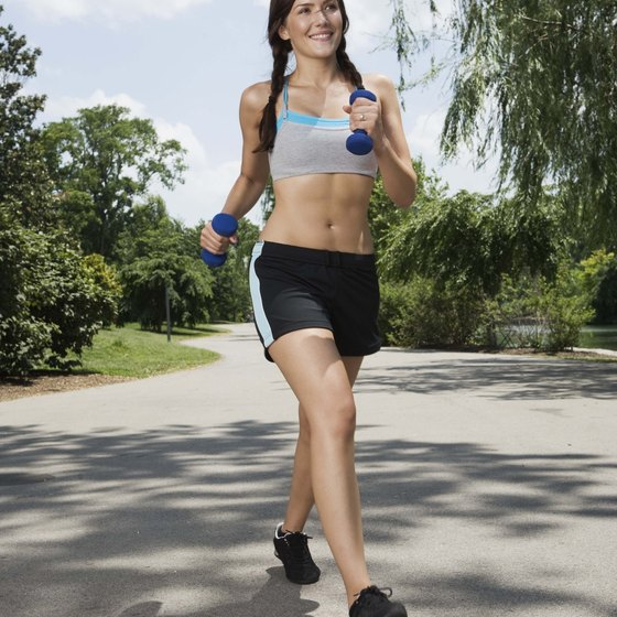Jogging for an hour two or three times per week can improve heart health.
