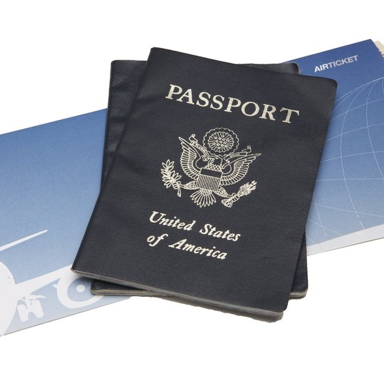 Your passport and flight tickets must carry the same name.