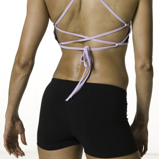 A curvier backside can be achieved through hard work and exercises that lift and tone the muscles of the buttocks.