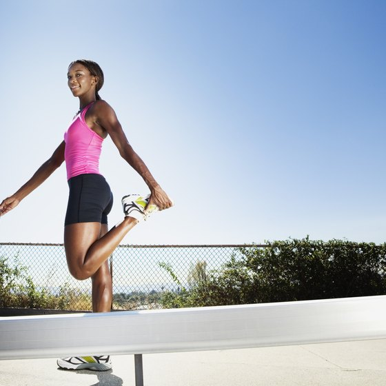 Stretching should be a vital part of your running routine.