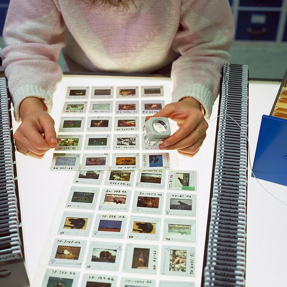 Proof sheets allow you to pick the best images to process.