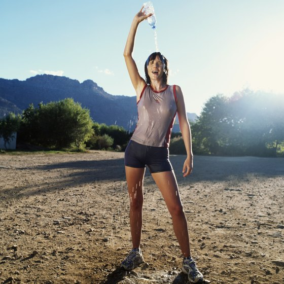 Keeping your body temperature below 104 degrees during exercise is critical.