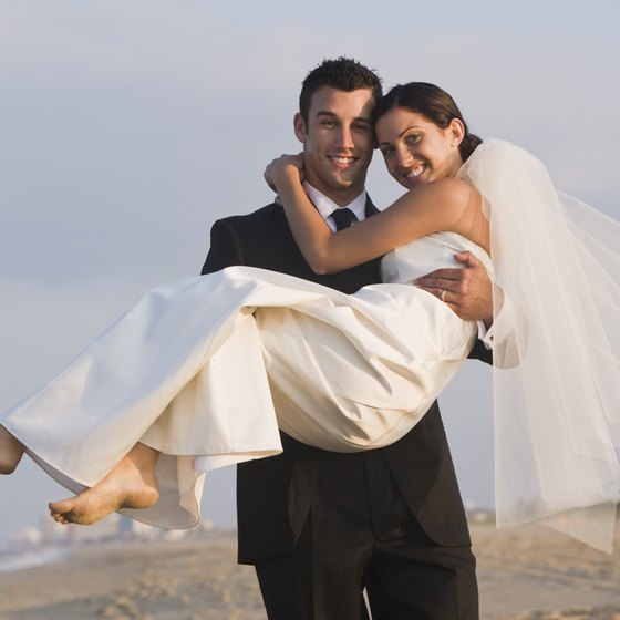 Have your wedding on the beach, in port or on the ship.