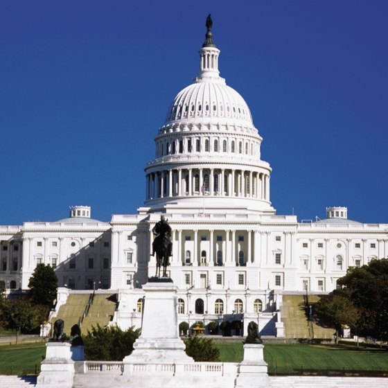The U.S. Capitol is one of the top sites in Washington, D.C.