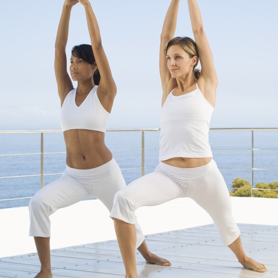 Yoga stretches and tones to create a balanced body.